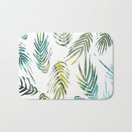 Tropic of Conversation Botanical Print Bath Mat