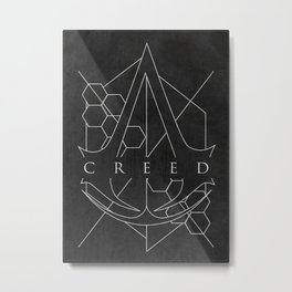 Creed Metal Print
