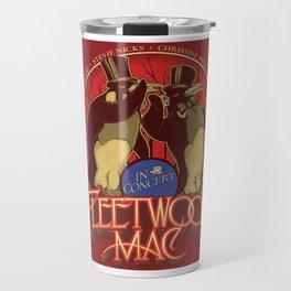 fleetwood mac1 dou penguins Travel Mug