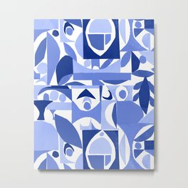 tango in blue ... Metal Print