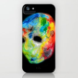 Colorful head. iPhone Case