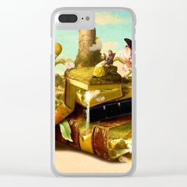 To Lands Away Clear iPhone Case