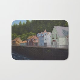 Ketchikan's Creek Street Bath Mat