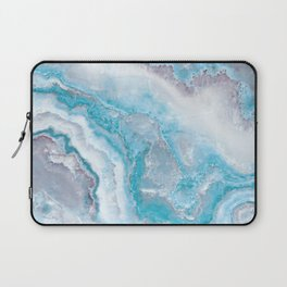 Ocean Foam Mermaid Marble Laptop Sleeve