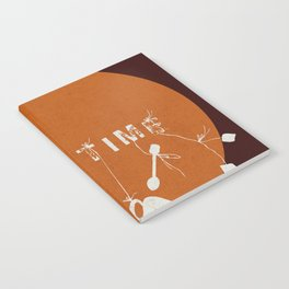 Orange Tea Time Notebook