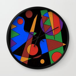 Abstract #105 Wall Clock