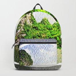 Trang An Ninh Binh Vietnam Landscape Backpack