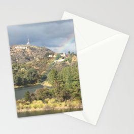Rainbow over Reservoir Stationery Cards