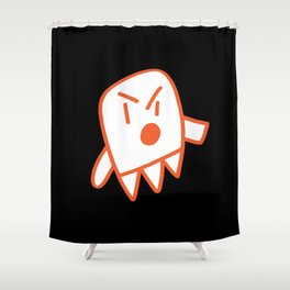 Ghosty Shower Curtain
