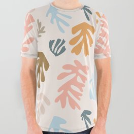 Seaweeds and sand All Over Graphic Tee