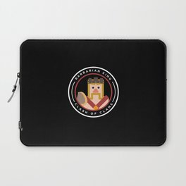 Barbarian King Laptop Sleeve