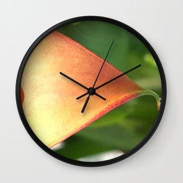 Crying Calla Lily Wall Clock