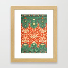 Examples of Chinese Ornament XCIV Framed Art Print