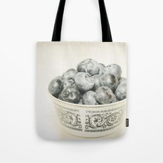 Blueberry Bowl Tote Bag