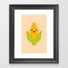 Corn Framed Art Print