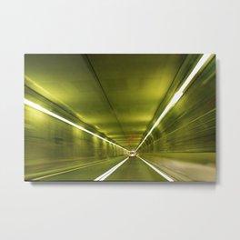 speed of light Metal Print