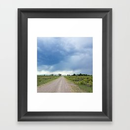 Open Roads Framed Art Print