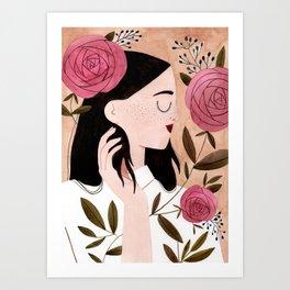 Meg Art Print