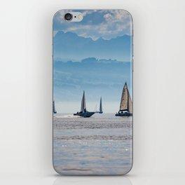 Sailboats (Lake Constance, Germany) iPhone Skin