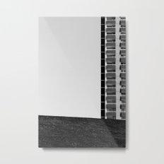 FLAT Metal Print