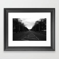 Off-Center Framed Art Print