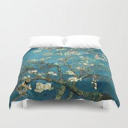 Blossoming Almond Trees, Vincent van Gogh. Famous vintage fine art. Duvet Cover