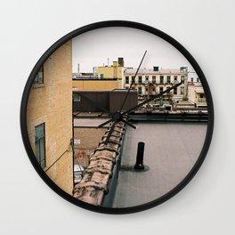 Peterborough Rooftops Wall Clock