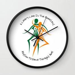Love's Rhythm Wall Clock
