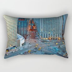 the windy city Rectangular Pillow