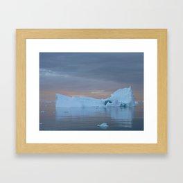 Antarctic Iceberg Framed Art Print