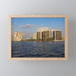 Shoreline in Fort Myers III Framed Mini Art Print