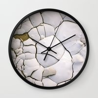 shell Wall Clocks featuring Shell by CrookedHeart
