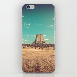 Devil's Tower National Monument Wyoming iPhone Skin