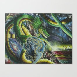 space of sheron Canvas Print