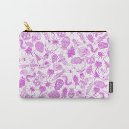 Pattern Pink Carry-All Pouch