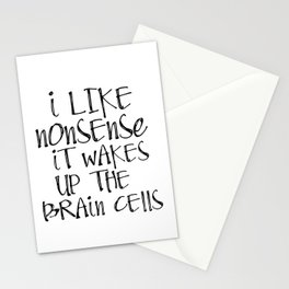 Printable Art, Dr Seuss quote print, printable quote Stationery Cards