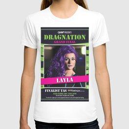 Dragnation Season 1 Layla Flamingos TAS T-shirt