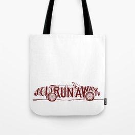Let's Run Away Tote Bag