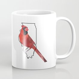Illinois – Northern Cardinal Coffee Mug