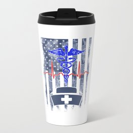 American Nurse Travel Mug