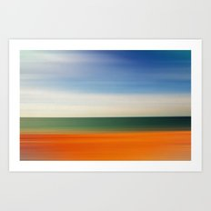 SIMPLI-SEA-TY SHADES Art Print
