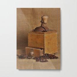 Kaffeemühle Metal Print