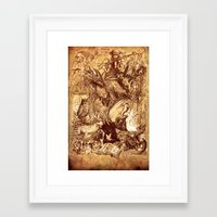 medieval Framed Art Prints featuring Medieval by TheMagicWarrior