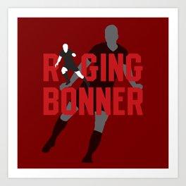 Raging Bonner Art Print