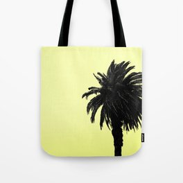 Single Palm - Lemon Tote Bag