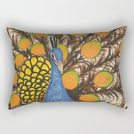 """color me feather"" Rectangular Pillow"