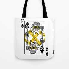 Dead King Card Tote Bag