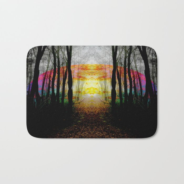 Rainbow Path To Imagination Bath Mat