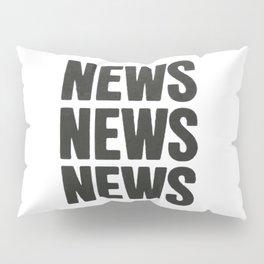 News News News Pillow Sham