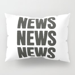 News News News Pillow Sham